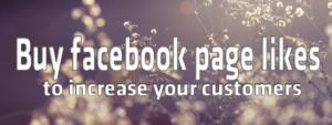 BUY Facebook Page Likes to Increase Your Customers